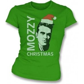 Mozzy Christmas Womens Slim Fit T-Shirt