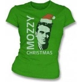 Mozzy Christmas Womens Slim Fit T-Shirt