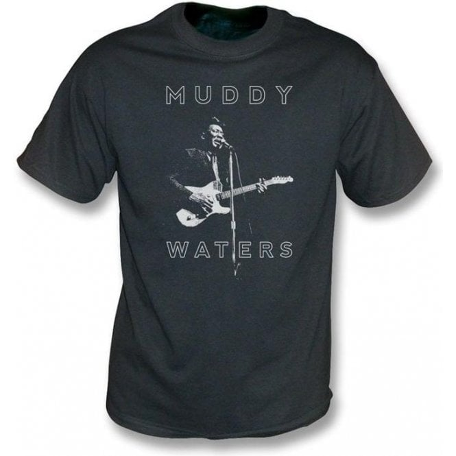Muddy Waters Blues Legend Vintage Wash T-Shirt