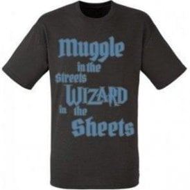 Muggle In The Street, Wizard In The Sheets T-Shirt