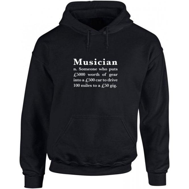 Musician Definition Hooded Sweatshirt