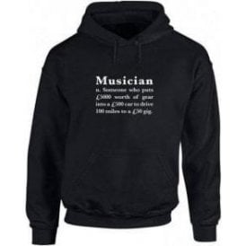 Musician Definition Hooded Sweatshirt