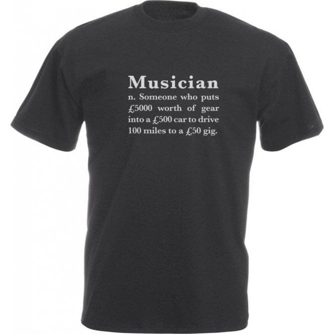 Musician Definition Vintage Wash T-Shirt