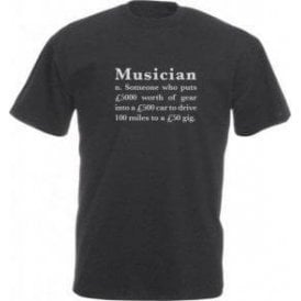 Musician Definition Vintage Wash T-Shirt
