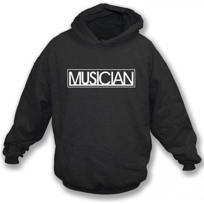 Musician Logo (As Worn By Liam Gallagher, Oasis/Beady Eye) Hooded Sweatshirt