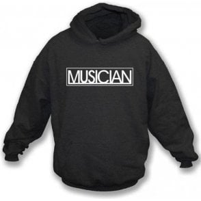 Musician Logo (As Worn By Liam Gallagher, Oasis/Beady Eye) Hooded Sweatshirt
