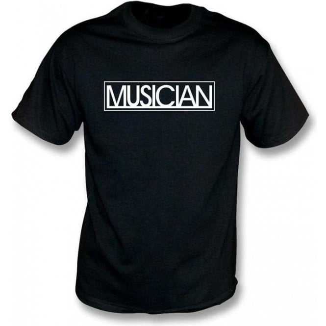 Musician Logo (As Worn By Liam Gallagher, Oasis/Beady Eye) T-Shirt