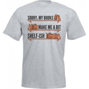 My Books Make Me Shelf-ish Kids T-Shirt