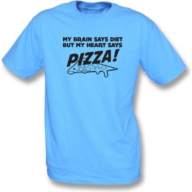 My Heart Says Pizza! T-Shirt