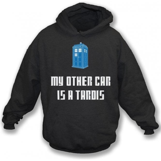 My Other Car Is A TARDIS (Doctor Who) Kids Hooded Sweatshirt