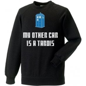 My Other Car Is A TARDIS (Doctor Who) Kids Sweatshirt