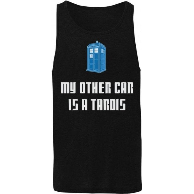 My Other Car Is A TARDIS (Doctor Who) Mens Tank Top