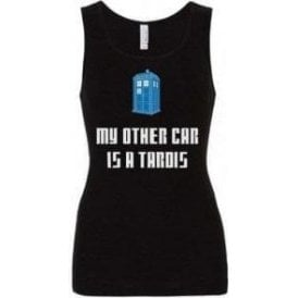 My Other Car Is A TARDIS Womens Baby Rib Tank Top