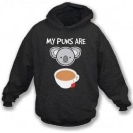 My Puns Are Koala Tea Hooded Sweatshirt