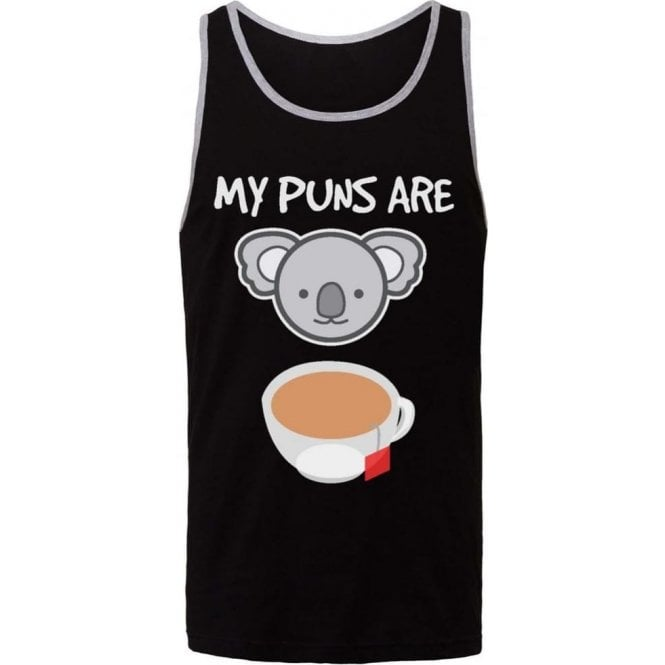 My Puns Are Koala Tea Men's Tank Top