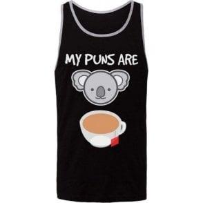My Puns Are Koala Tea Men's Tank Top