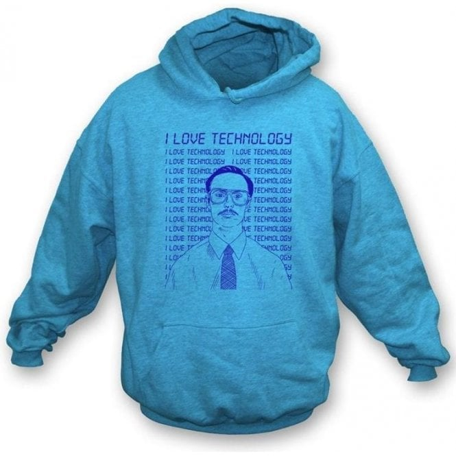 Napoleon Dynamite I love Technology Hooded Sweatshirt