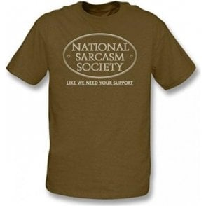 National Sarcasm Society Children's T-shirt
