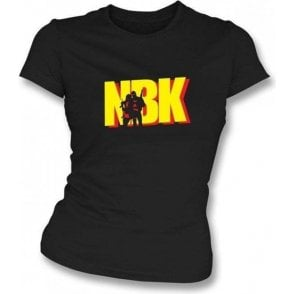 Natural Born Killers Logo Womens Slim Fit T-Shirt