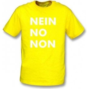 Nein No Non (As Worn By Thom Yorke, Radiohead) T-Shirt