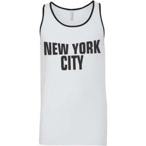 New York City (As worn by John Lennon, The Beatles) Men's Tank Top