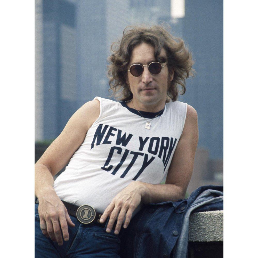 New York City As Worn By John Lennon T Shirt