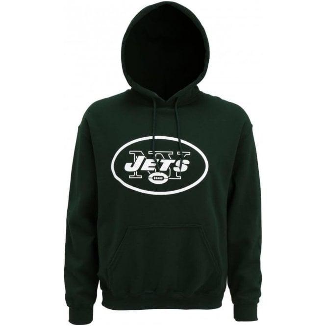 New York Jets Large Logo Hooded Sweatshirt