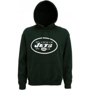 New York Jets Large Logo Hooded Sweatshirt