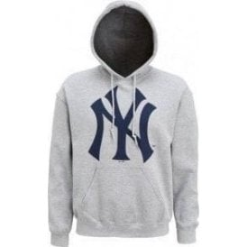 New York Yankees Large Logo Hooded Sweatshirt