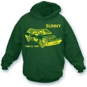 Nissan Sunny hooded sweatshirt
