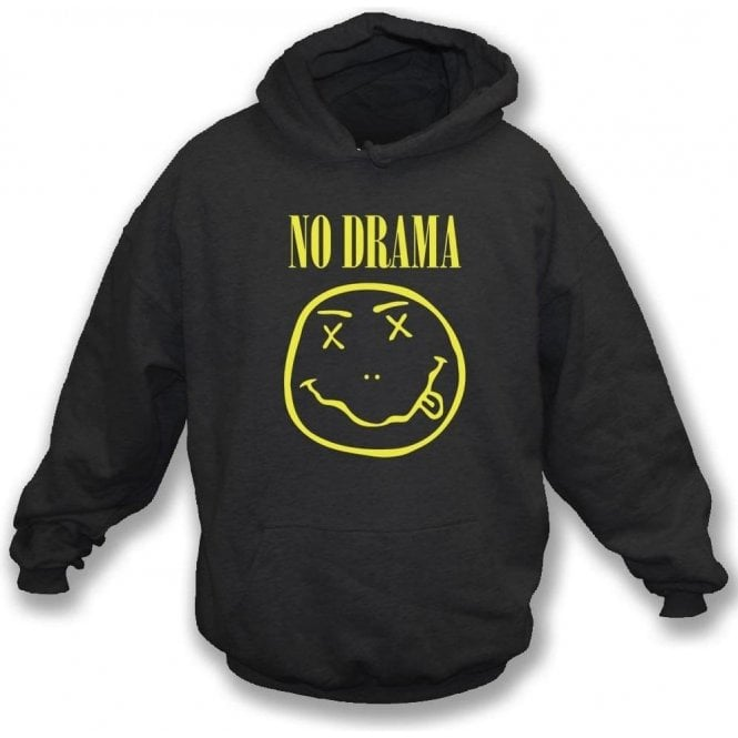 No Drama (Nirvana Logo) Hooded Sweatshirt