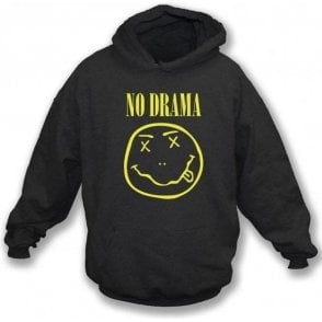 No Drama (Nirvana Logo) Hooded Sweatshirt