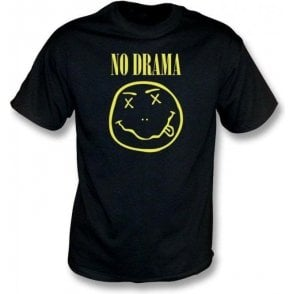 No Drama (Nirvana Logo) T-Shirt
