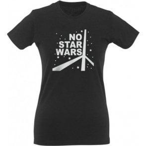 No Star Wars (As Worn By Thom Yorke, Radiohead) Womens Slim Fit T-Shirt