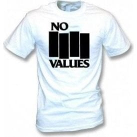 No Values (As Worn By Henry Rollins, Black Flag) T-Shirt