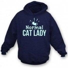 Normal Cat Lady Kids Hooded Sweatshirt