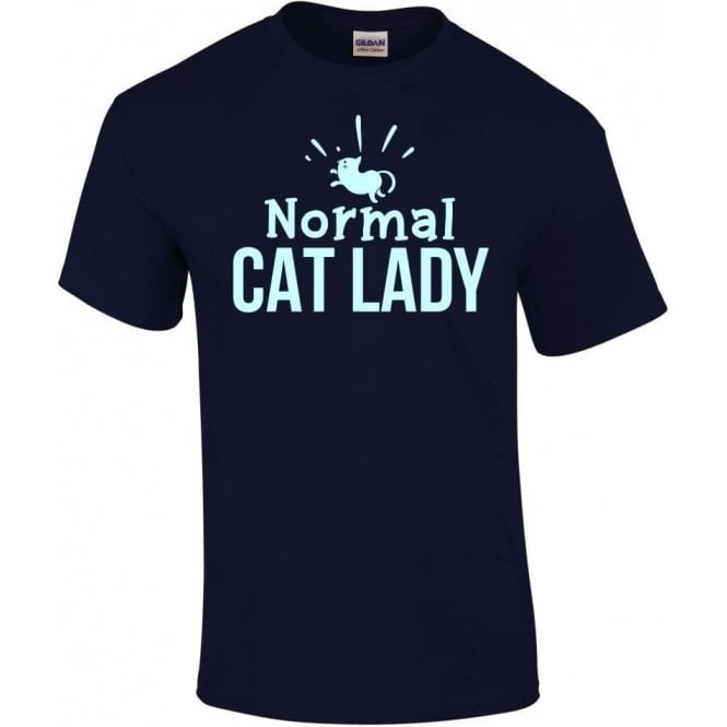 Normal Cat Lady Kids T-Shirt