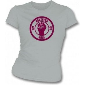 Northern Soul 45rpm girls slimfit T-shirt