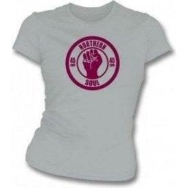 Northern Soul 45rpm girls slimfit T-shirt