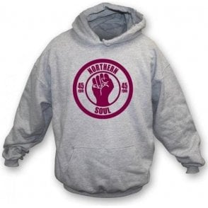 Northern Soul 45rpm Hooded Sweatshirt