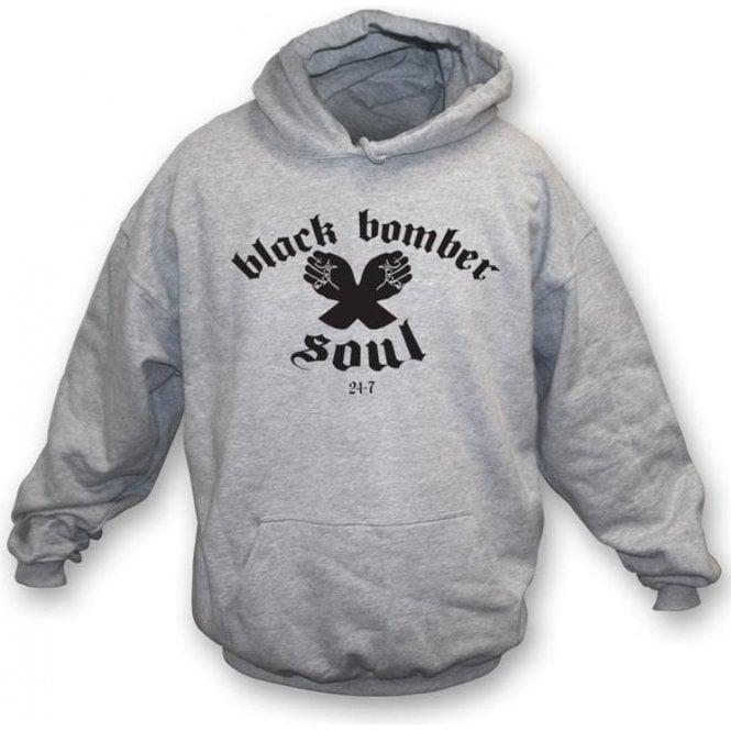 Northern Soul - Black Bomber Hooded Sweatshirt