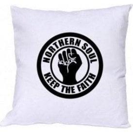 Northern Soul Keep The Faith Cushion