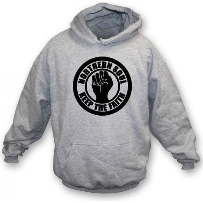 Northern Soul Keep the Faith Hooded Sweatshirt