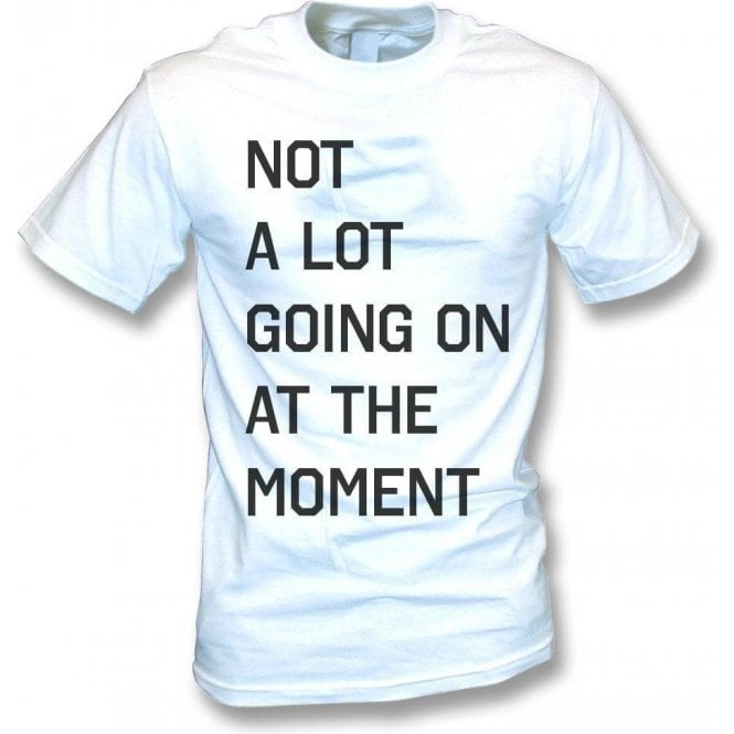 Not A Lot Going On At The Moment (As Worn By Taylor Swift) T-Shirt