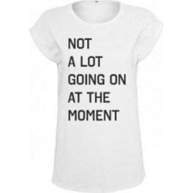 Not A Lot Going On At The Moment (As Worn By Taylor Swift) Womens Extended Shoulder T-Shirt