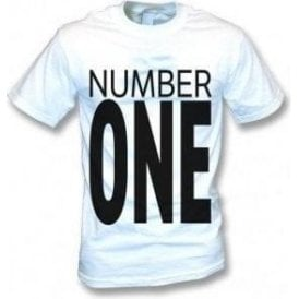 Number One (As Worn By George Michael & Andrew Ridgeley, Wham!) T-Shirt