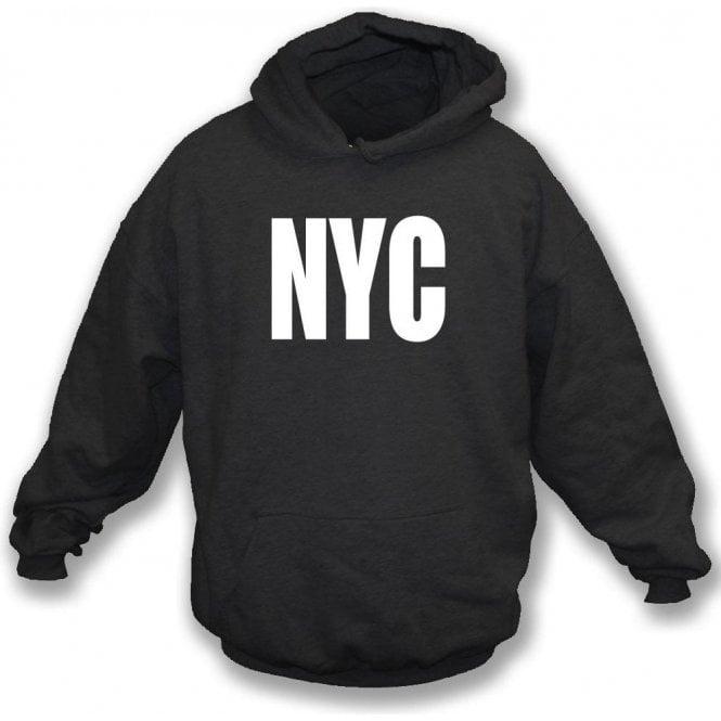 NYC as worn by Joey Ramone (The Ramones) Hooded Sweatshirt