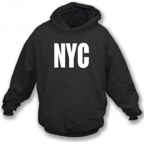 NYC as worn by Joey Ramone (The Ramones) Hooded Sweatshirt