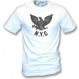 NYC Eagle (As Worn By Joey Ramone, Ramones) Vintage Wash T-Shirt