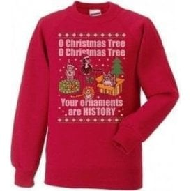 O Christmas Tree Kids Jumper